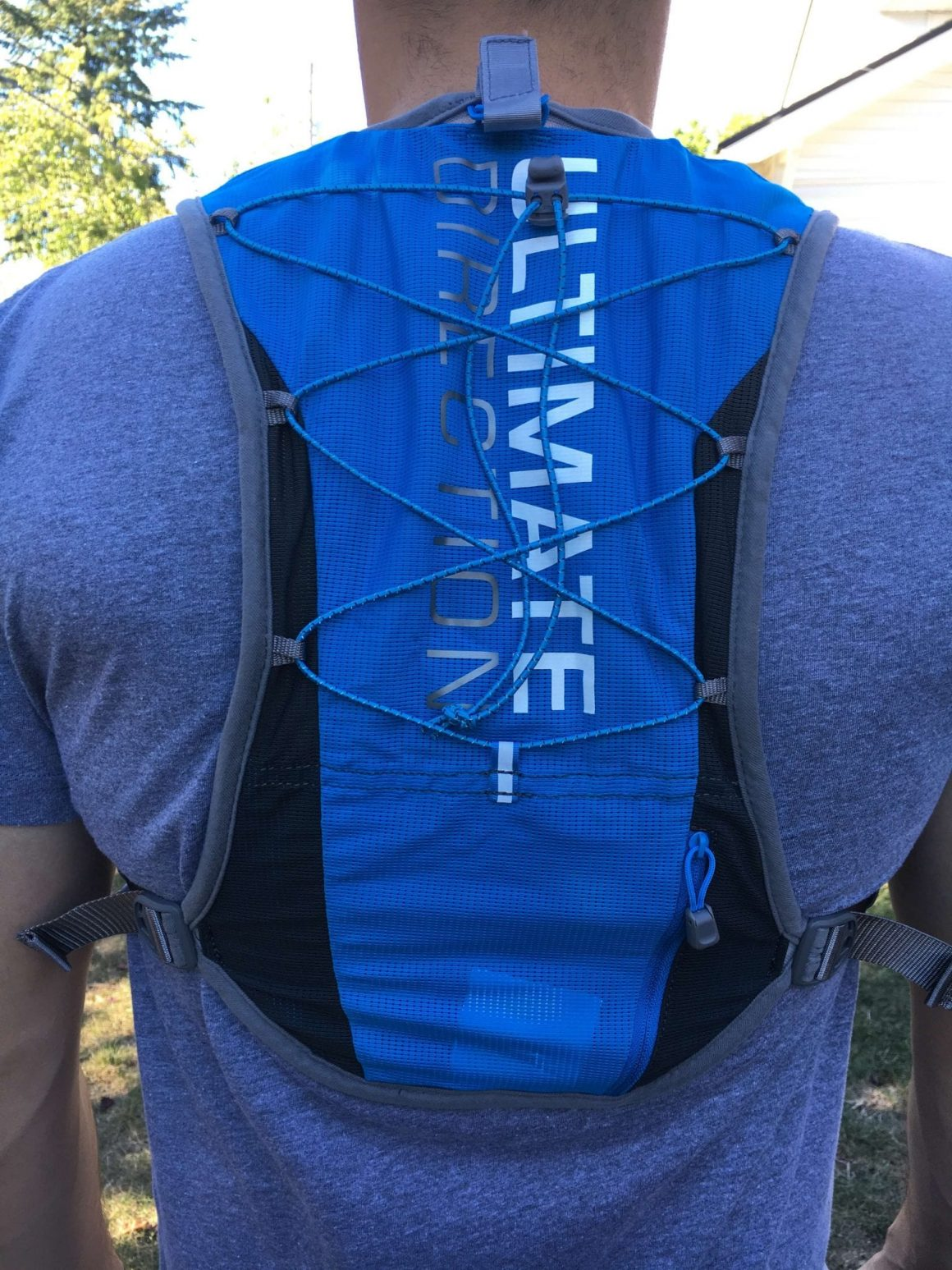 Ultimate Direction SJ Ultra Vest 3 Back View