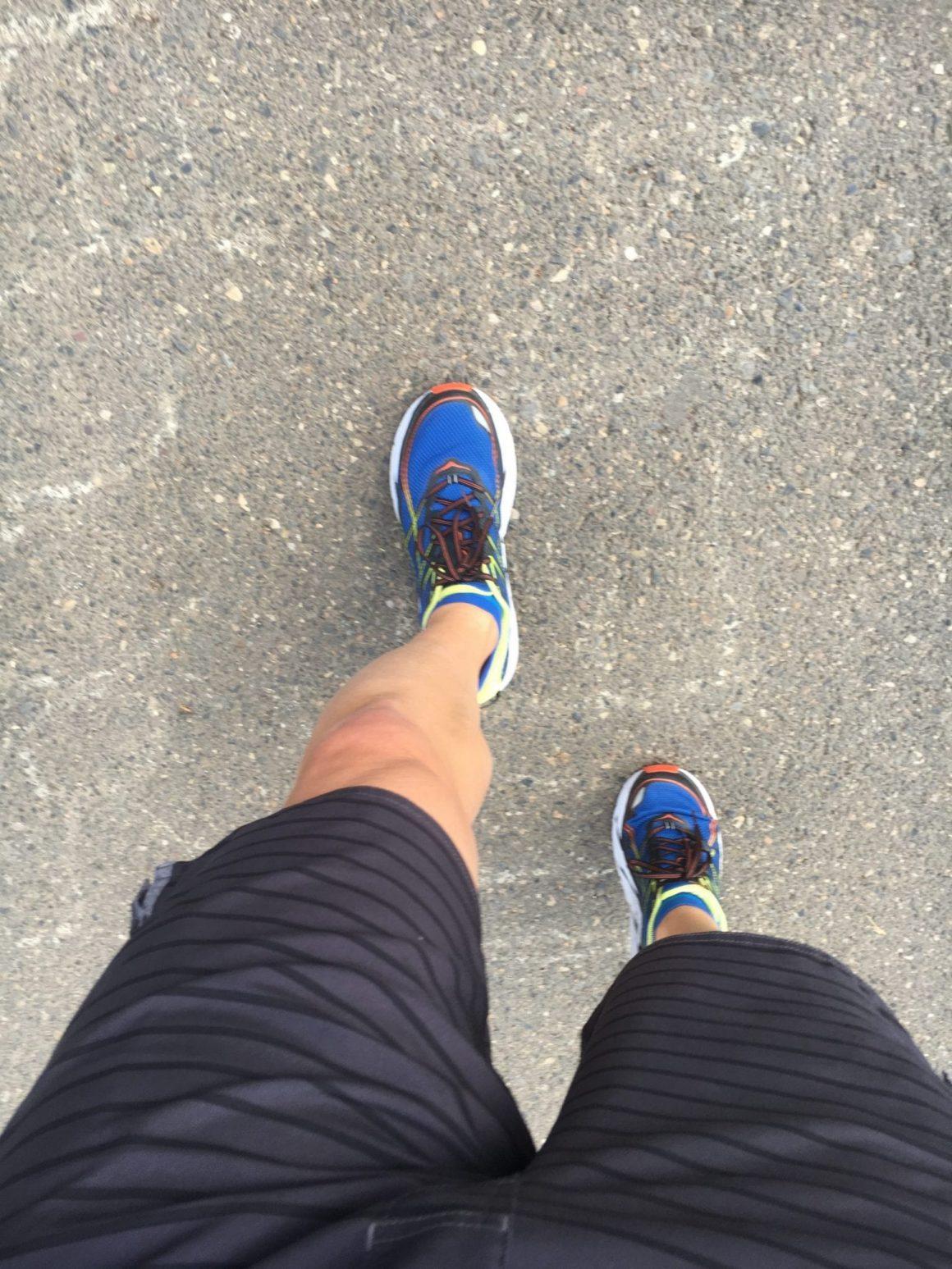 Vuori Apparel Trail Shorts In Use