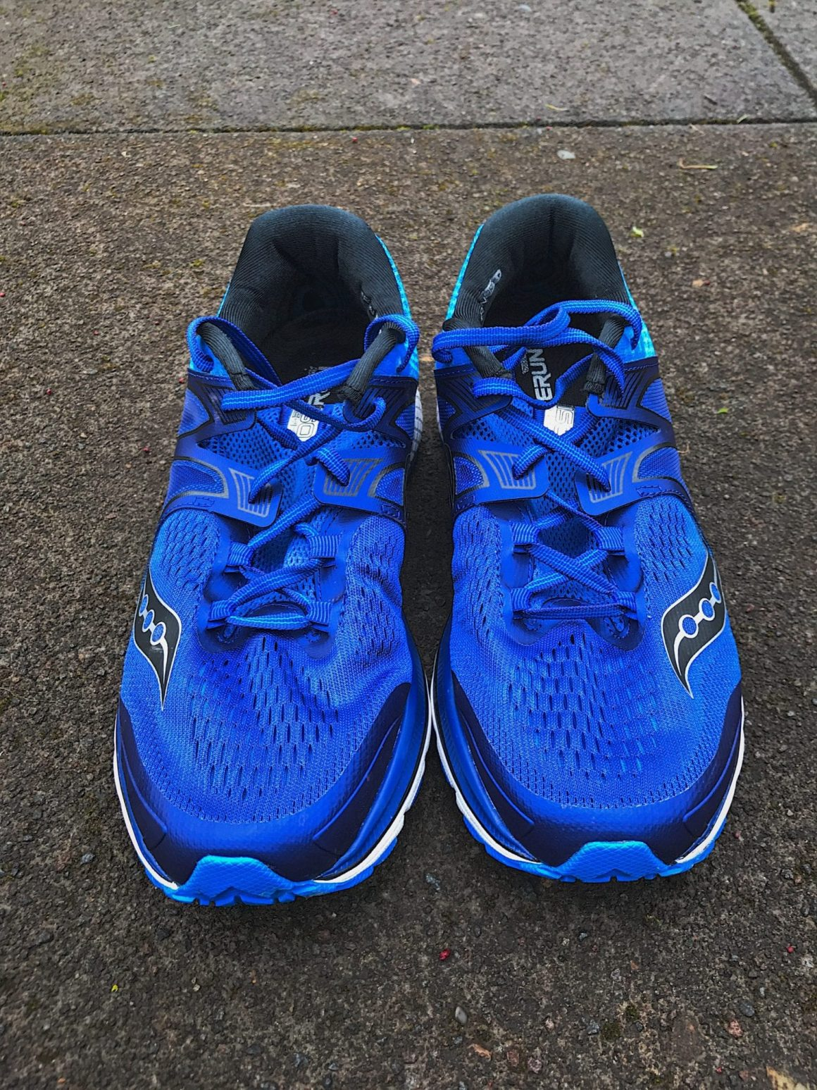 Saucony Triumph ISO 3 from the front