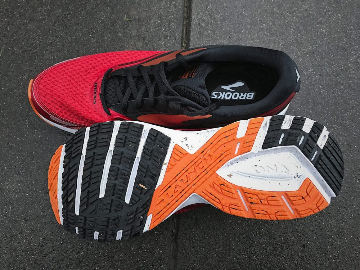 Brooks Launch 4 Outsole