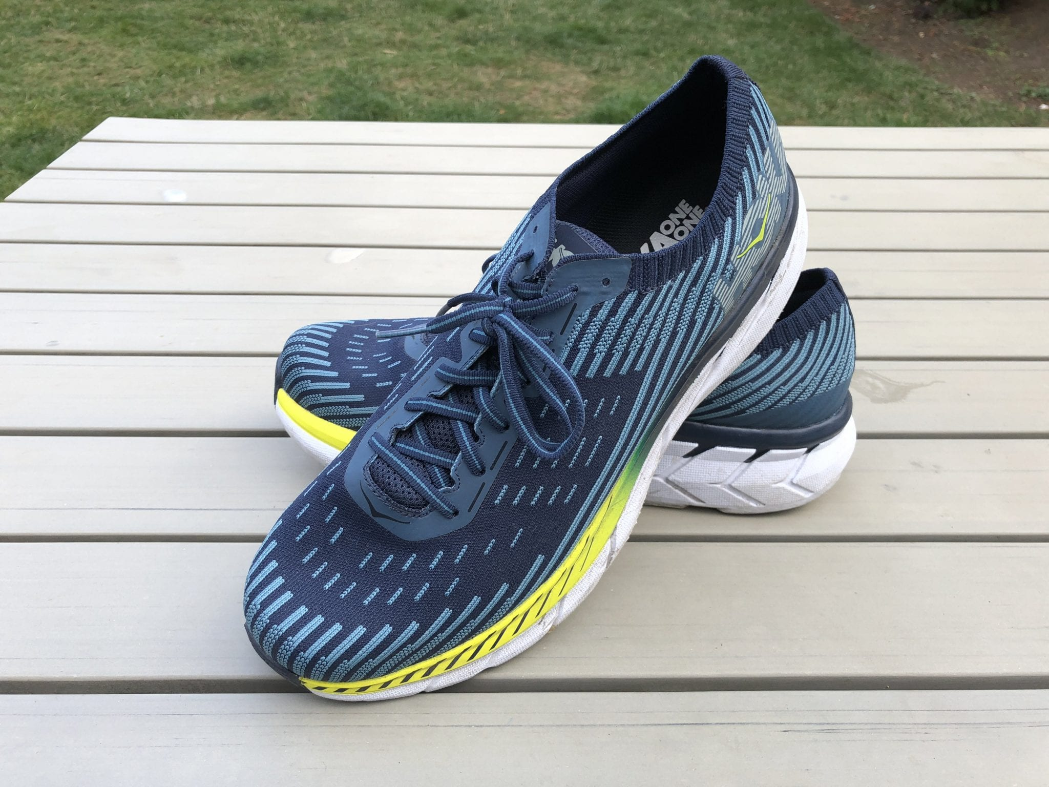 HokaOneOne Clifton 5 Knit 4