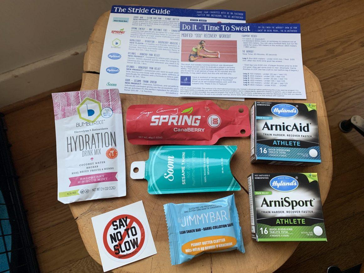 Subscription Box StrideBox 8