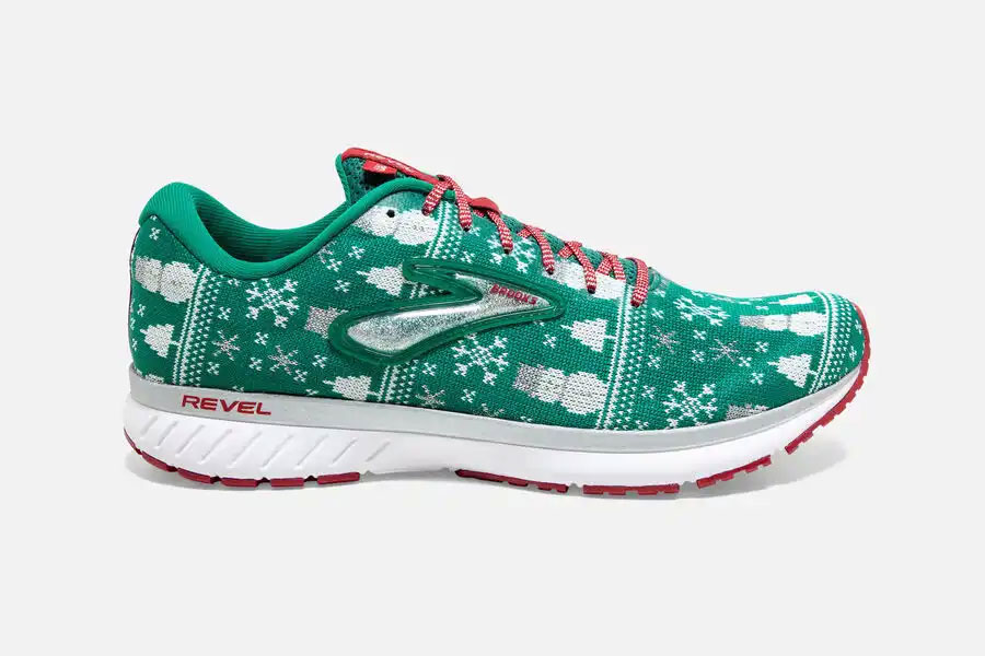 Brooks Revel3 HolidaySweater
