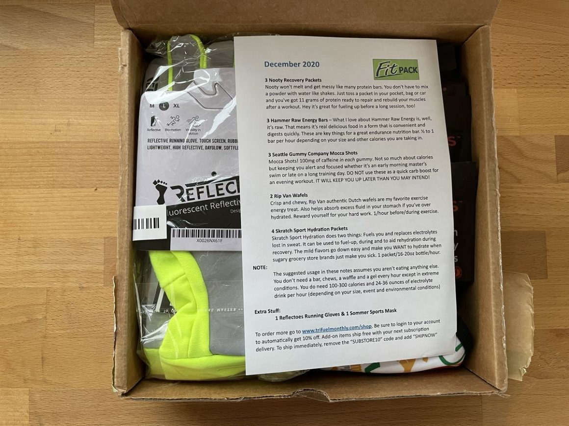 Trifuel Monthly 2020 Fit Pack 4