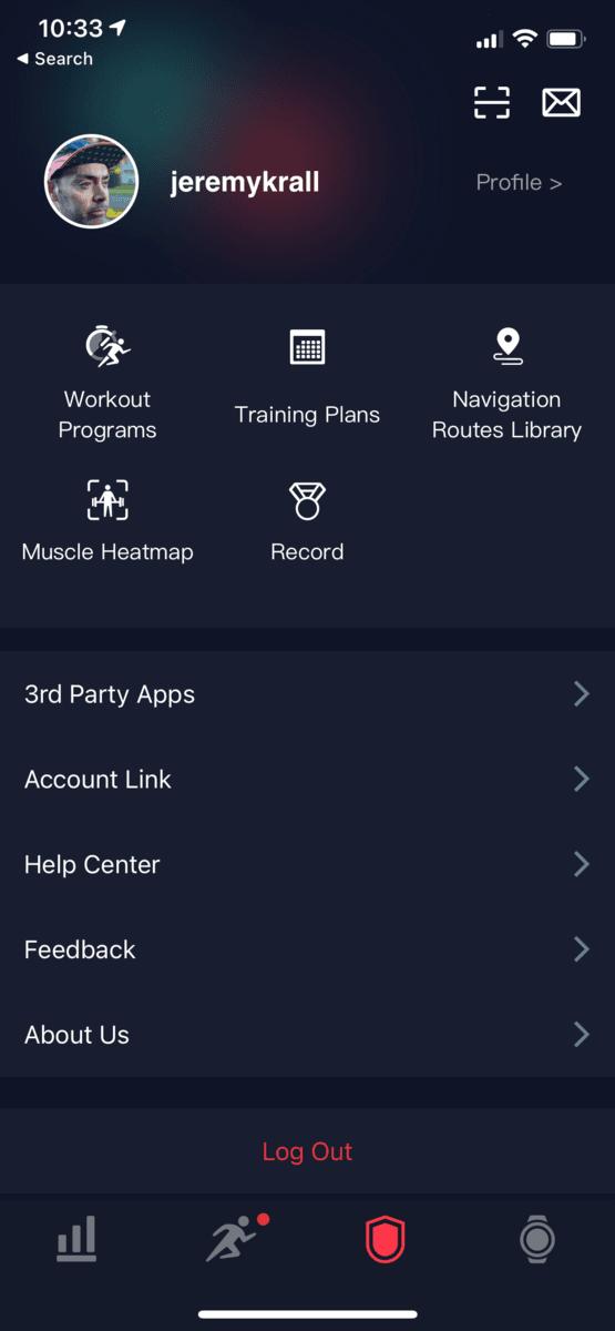 COROS Apex Pro App 9